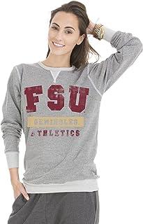 NCAA Colby Tri-Blend Crew Neck Sweatshirt