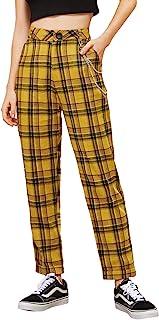 SOLYHUX 女式弹力高腰修身紧身裤瑜伽裤