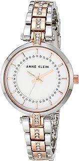 ANNE KLEIN 女士 水晶金属手链手表