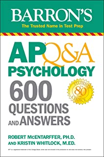 AP Q&A Psychology: 600 Questions and Answers (Barron's Test Prep) (English Edition)