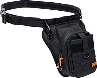 Doppelganger 骑手 皮套包 2 [摩托车用包] 容量1.5升 战术腰带・附带登山扣 DBT568-GY