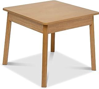 Melissa & Doug 木制方形桌 – 儿童家具 – 自然色