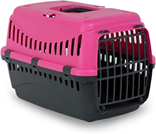MP Bergamo Gipsy 50 猫咪运输篮 塑料 7 千克 粉红色