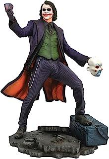 钻石选择玩具 DC 画廊: 黑暗骑士: 小丑 PVC 人偶,多色