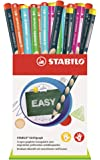 STABILO EASYgraph – 一桶 36 个 Grip HB 石墨铅笔