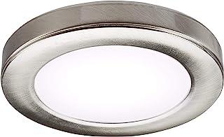 单只冷白色 LED 可调橱柜底灯,拉丝铬色 UNDK3BCCW