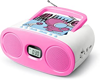 Muse 米 - 167 KDG 时钟收音机带 Projection 适用于儿童