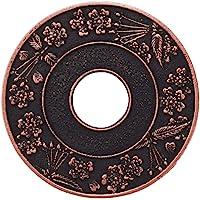 岩铸 Iwachu 锅垫 圆樱花(大)铜/黑色 南部铁器 17204