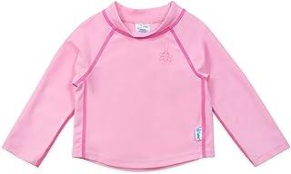 I PLAY 婴儿和幼儿长袖徽标防晒衣衬衫