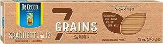 De Cecco Spaghetti No. 12, 7 Grain, 12 Oz (Pack Of 12)