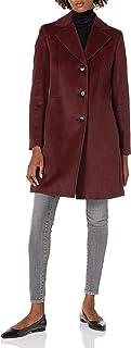 Calvin Klein 女式经典羊绒混纺外套