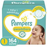 Pampers 帮宝适 Swaddlers 新生儿尿布,尺码 1 164 片