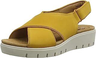 Clarks 女士 Un Karely Sun 露跟凉鞋