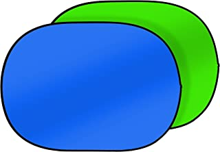 Bresser 照相馆 TR-3 可折叠背景 2 面 180 x 225 厘米 */蓝色