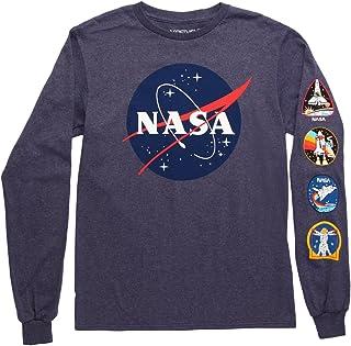 Fifth Sun NASA 徽标成人长袖 T 恤