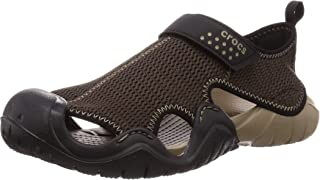 [Crocs 卡骆驰] Swiftwater Outlet 凉鞋 男款 203967