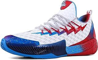 PEAK 男式篮球鞋透气运动鞋 Lou Williams Lightning 专业防滑运动鞋 跑步、散步