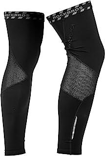 ROCKBROS 自行车暖腿套 男女 保暖 抓绒 适合骑行跑步 冬季运动 户外活动