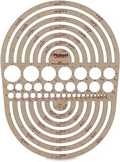 Pickett 等轴测六角螺母和头模板 10 Circle Radius Master Smoke Gray