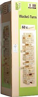 Natural Games 摇摆塔,含 60 块游戏积木