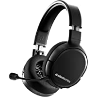 SteelSeries 赛睿 Arctis 1无线游戏耳机 USB-C无线 可拆卸透明麦克风 适用于PC、PS4、Nin…