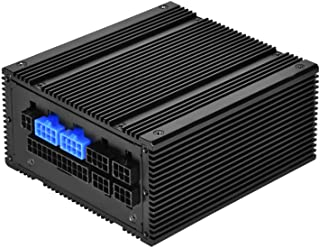 SilverStone Technology SST-NJ450-SXL 小外形 * 无风扇全模块化 SFX-L 450 W 80 Plus 铂金电源