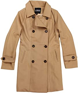 Urban Boundaries 女式羊毛混纺双排扣豌豆外套