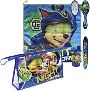 "Paw Patrol 2500000684 Chase ""Night Vision"" Overnight Wash Bag & Travel Accessory"