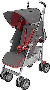 英国 Maclaren 玛格罗兰 Techno XT 灰/橙色 婴童伞车 2016款 (英国品牌 香港直邮)