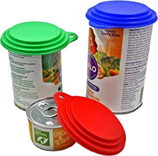 狗、猫、人类食品罐盖 - 美国制造 - Vets 销售 - 适合大型、中型和小型罐 - 不含双酚 A
