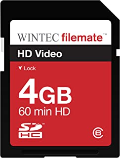 Wintec Filemate 4 GB HD Video Class 6 Secure Digital SDHC Card