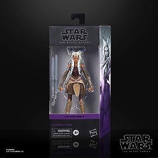 Star Wars 黑色系列 Ahsoka Tano 玩具 6 英寸(约 15.2 厘米)比例反叛者收藏可动公仔,适合 4 岁及以上儿童