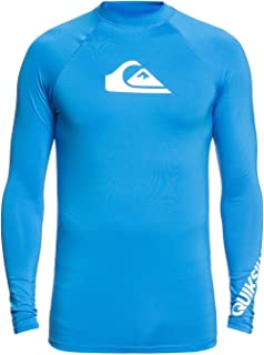 Quiksilver 男式 All Time 长袖 Upf 50 *背心