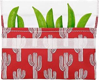 Lunchskins 可重复使用零食食品袋,红色仙人掌