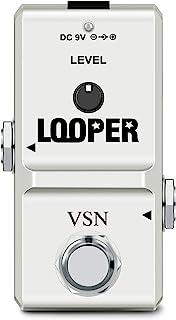 VSN Looper 吉他踏板环效应,带*卡端口无限循环录音 10 分钟真正旁路
