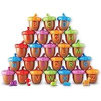 Learning Resources 字母橡子活动套装,78件,视觉和触觉学习玩具,3岁以上