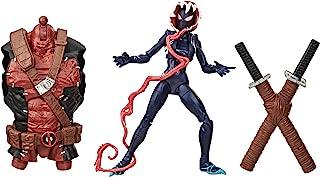 Hasbro 孩之宝Marvel Legends 漫威传奇系列 毒液,6英寸(约15.24厘米)可收藏玩具 幽灵蜘蛛手办,高级设计