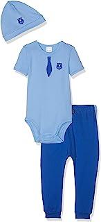 Schiesser 男孩 Polizei 婴儿套装丛林内衣 3 件装