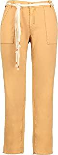 GINA LAURA 女士 7/8 裤子 Tina,工装裤,流苏下摆,直腿 750253