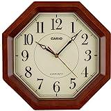 卡西欧 简约设计电波模拟时钟 棕色 IQ-1106J-5JF