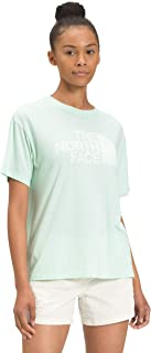 The North Face 女士 S/S 半圆顶三料混纺 T 恤