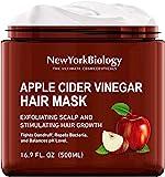 Apple Cider 醋发膜 适用于干发和* – 保湿和深层调理干发护理 – 促进*生长,平衡 pH 水平,防止*屑和…