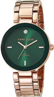 Anne Klein 女士镶钻手链手表