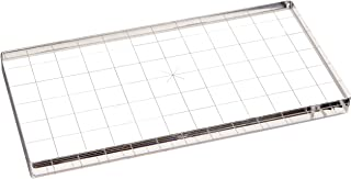 "Apple Pie Memories Acrylic Stamp Block W/Alignment Grid-3""X6""X.5"""