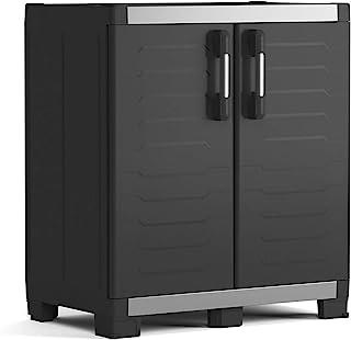 Keter Garage 衣柜 XL 低,黑色