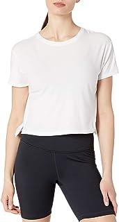 Amazon Brand - Core 10 女式比马棉短款短袖 T 恤