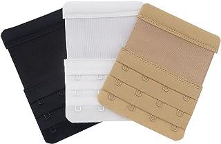 Honbay 3 件女士柔软舒适胸罩伸展器 3X4 挂钩