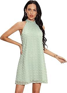 Floerns 女式夏季雪纺无袖派对连衣裙