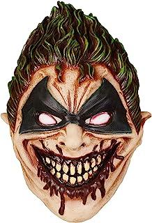 万圣节可怕的成人面具恐怖派对装饰道具Iduola恐怖面罩适用于派对装饰面罩男女(**怪物)
