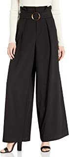C/MEO COLLECTIVE 女式 Avidity 高腰褶皱裤,带腰带